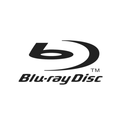 Partnerlogos vom optimal media Authoring Studio und Encoding House: Blu Ray Disc